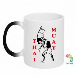 Кружка-хамелеон Muay Thai Jump - FatLine