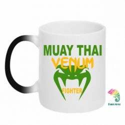 Кружка-хамелеон Muay Thai Venum Fighter - FatLine