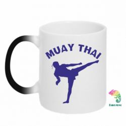Кружка-хамелеон Muay Thai - FatLine