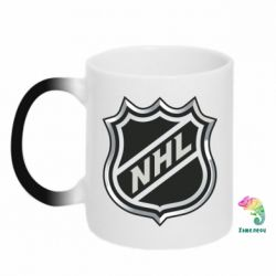 Кружка-хамелеон National Hockey League - FatLine