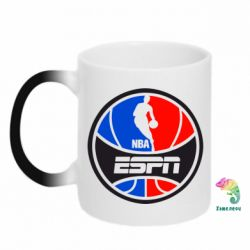 Кружка-хамелеон NBA ESPN - FatLine