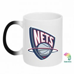 Кружка-хамелеон Nets - FatLine