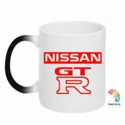 Кружка-хамелеон Nissan GT-R - FatLine