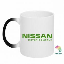 Кружка-хамелеон Nissan Motor Company - FatLine