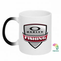 Кружка-хамелеон Oakley Fishing