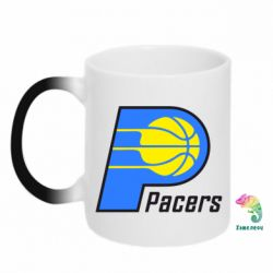 Кружка-хамелеон Pacers - FatLine