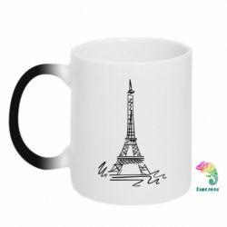 Кружка-хамелеон Paris - FatLine