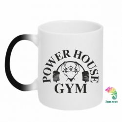 Кружка-хамелеон Power House Gym