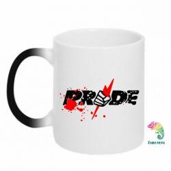 Кружка-хамелеон Pride Logo - FatLine