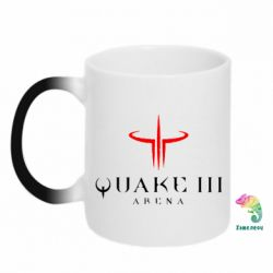 Кружка-хамелеон Quake 3 Arena - FatLine