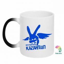 Кружка-хамелеон Республика Казантип - FatLine
