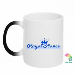 Кружка-хамелеон Royal Stance - FatLine