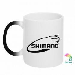 Кружка-хамелеон Shimano - FatLine