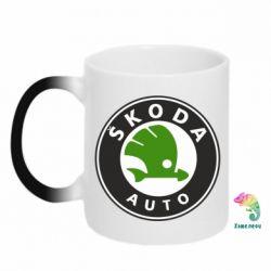 Кружка-хамелеон Skoda Auto - FatLine