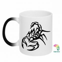 Кружка-хамелеон скорпион 2 - FatLine