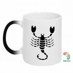 Кружка-хамелеон скорпіон - FatLine