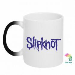 Кружка-хамелеон Slipknot - FatLine