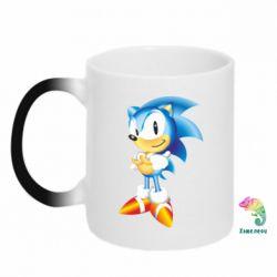 Кружка-хамелеон Sonic - FatLine