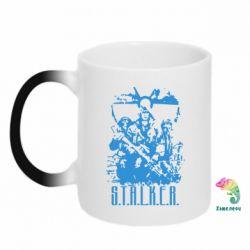 Кружка-хамелеон Stalker Logo - FatLine
