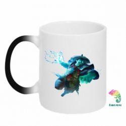 Кружка-хамелеон Storm Spirit - FatLine