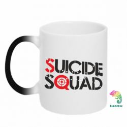 Кружка-хамелеон Suicide Squad Team - FatLine