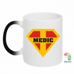 Кружка-хамелеон Super Medic - FatLine