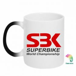 Кружка-хамелеон Superbike World Championship - FatLine