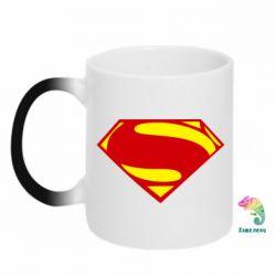 Кружка-хамелеон Superman Человек из стали - FatLine