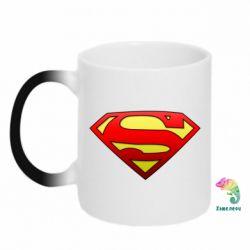 Кружка-хамелеон Superman Logo - FatLine