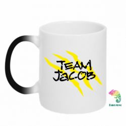 Кружка-хамелеон Team Jacob - FatLine