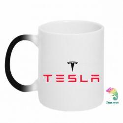 Кружка-хамелеон Tesla - FatLine