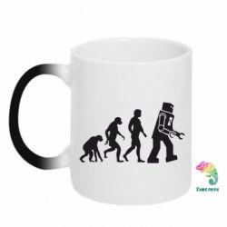 Кружка-хамелеон The Bing Bang theory Evolution - FatLine