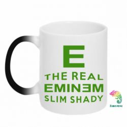 Кружка-хамелеон The Real Slim Shady - FatLine