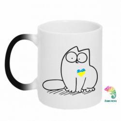 Кружка-хамелеон Типовий український кіт - FatLine