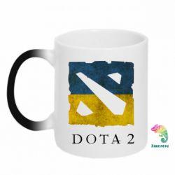 Кружка-хамелеон Ukraine Dota Team - FatLine