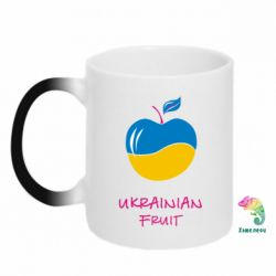 Кружка-хамелеон Ukrainian Fruit - FatLine