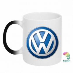 Кружка-хамелеон Volkswagen 3D Logo - FatLine
