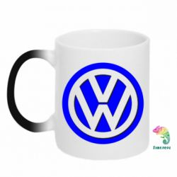 Кружка-хамелеон Volkswagen Logo - FatLine