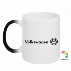 Кружка-хамелеон Volkswagen Motors - FatLine