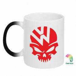 Кружка-хамелеон Volkswagen Skull - FatLine