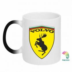 Кружка-хамелеон Volvo Logo - FatLine
