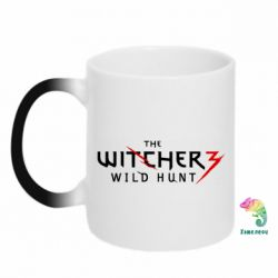 Кружка-хамелеон Witcher 3 Wild Hunt - FatLine