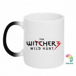 Кружка-хамелеон Witcher 3 Wild Hunt - FatLine