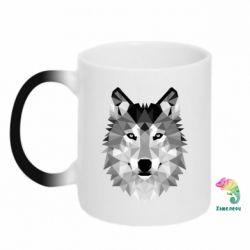 Кружка-хамелеон Wolf Art - FatLine