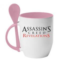 Кружка с керамической ложкой Assassin's Creed Revelations - FatLine