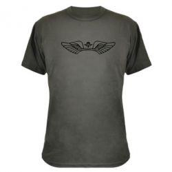 Камуфляжная футболка Крылья десанта - FatLine