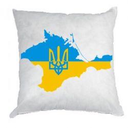 Подушка Крым это Украина - FatLine