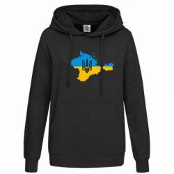 Женская толстовка Крым это Украина - FatLine