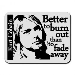 Килимок для миші Kurt Cobain - FatLine