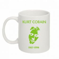 Кружка 320ml Kurt Cobaine 1967-1994 - FatLine